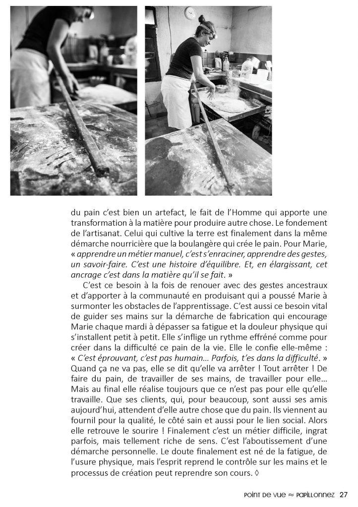 deuxième page de l'article Panem doloris de la revue Le Citron numéro 5