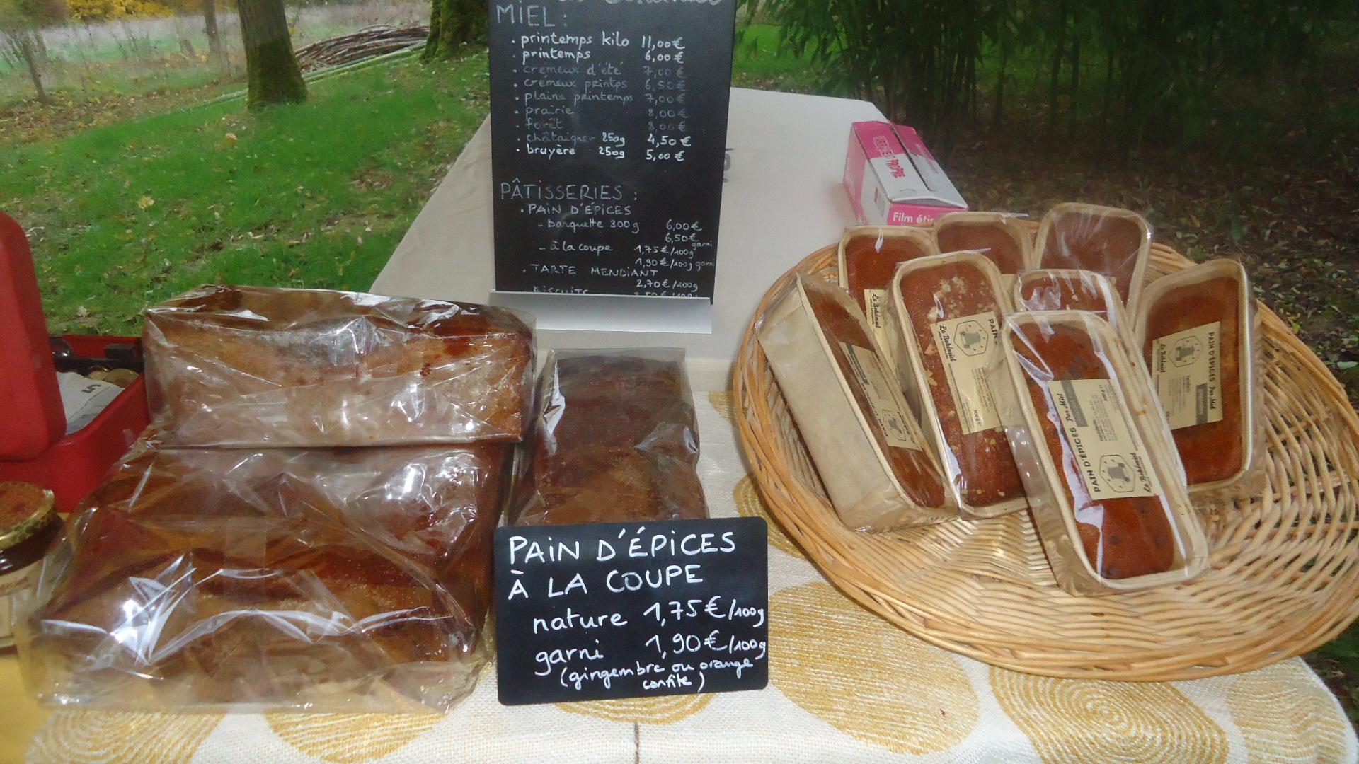pain d'épice de l'apiculteur dans le 47
