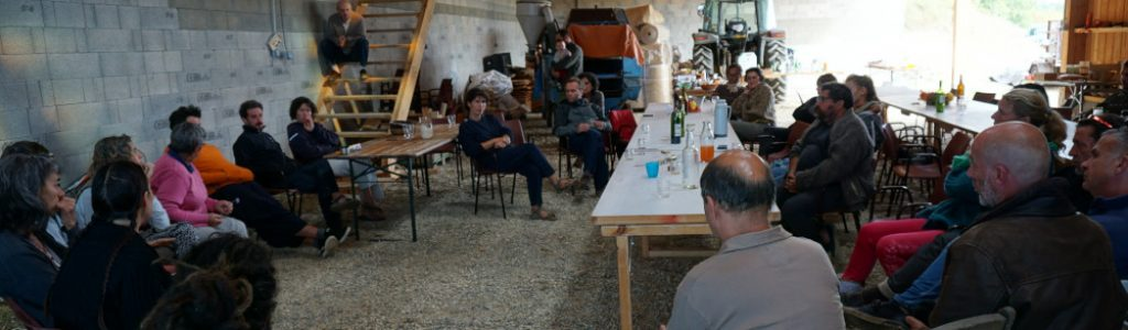 une réunion comac du groupe nature et progres quercy gascogne